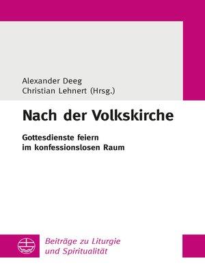cover image of Nach der Volkskirche