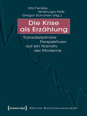 cover image of Die Krise als Erzählung