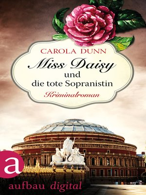 cover image of Miss Daisy und die tote Sopranistin