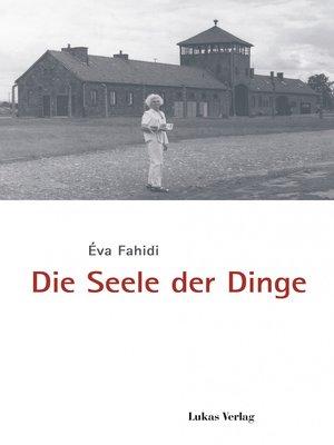 cover image of Die Seele der Dinge