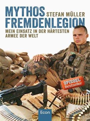 cover image of Mythos Fremdenlegion