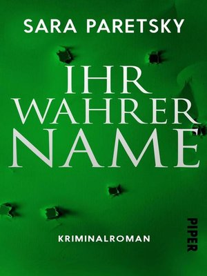 cover image of Ihr wahrer Name