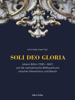 cover image of SOLI DEO GLORIA