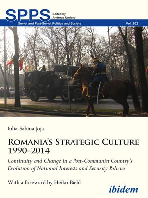 cover image of Romania's Strategic Culture 1990–2014