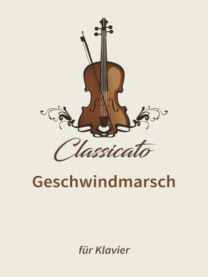 cover image of Geschwindmarsch