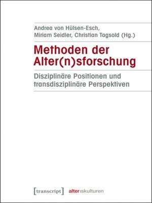 cover image of Methoden der Alter(n)sforschung