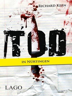 cover image of Tod in Nürtingen