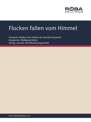 cover image of Flocken fallen vom Himmel