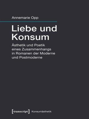 cover image of Liebe und Konsum