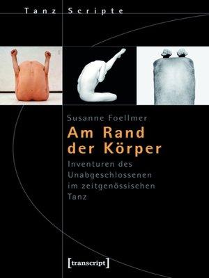 cover image of Am Rand der Körper
