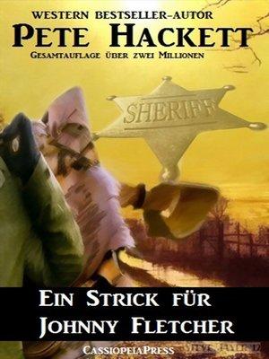 cover image of Ein Strick für Johnny Fletcher