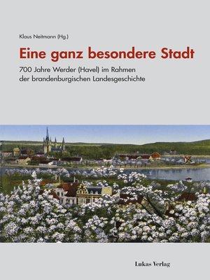 cover image of Eine ganz besondere Stadt