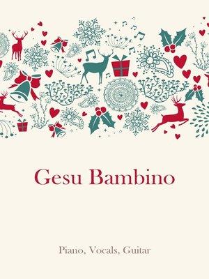 cover image of Gesu Bambino