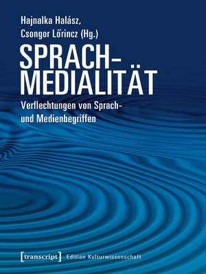 cover image of Sprachmedialität
