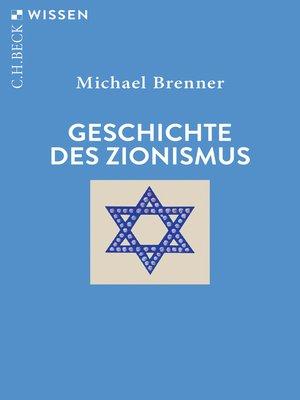 cover image of Geschichte des Zionismus