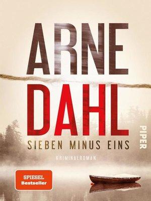 cover image of Sieben minus eins