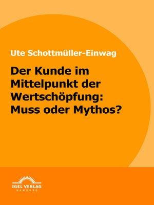 cover image of Der Kunde im Mittelpunkt der Wertschöpfung