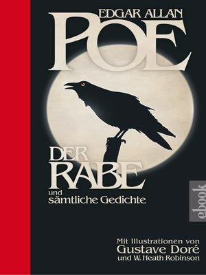 cover image of Der Rabe und sämtliche Gedichte