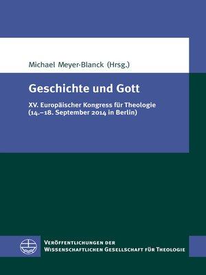cover image of Geschichte und Gott