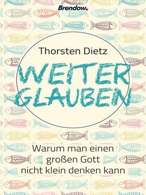 cover image of Weiterglauben