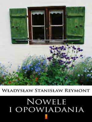 cover image of Nowele i opowiadania