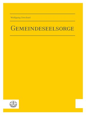 cover image of Gemeindeseelsorge