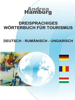 cover image of Dreisprachiges Wörterbuch für Tourismus