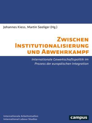 cover image of Zwischen Institutionalisierung und Abwehrkampf