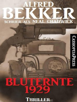 cover image of Bluternte 1929