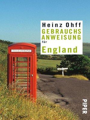 cover image of Gebrauchsanweisung für England