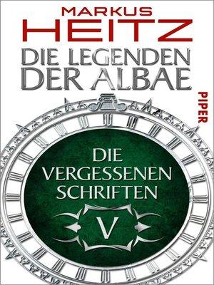 cover image of Die Vergessenen Schriften 5