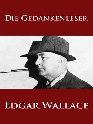 cover image of Die Gedankenleser
