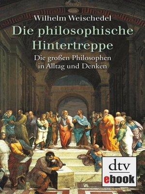 cover image of Die philosophische Hintertreppe