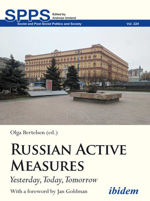 cover image of Russian Active Measures