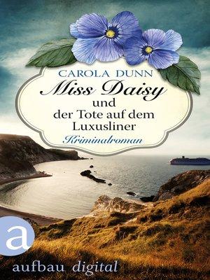 cover image of Miss Daisy und der Tote auf dem Luxusliner