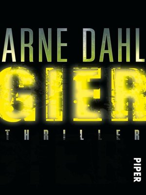 cover image of Gier