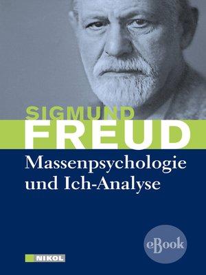 cover image of Massenpsychologie und Ich-Analyse