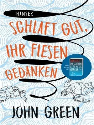 cover image of Schlaft gut, ihr fiesen Gedanken