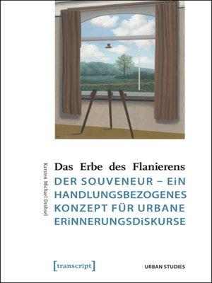 cover image of Das Erbe des Flanierens