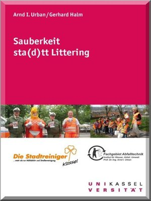 cover image of Sauberkeit sta(d)tt Littering