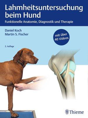 cover image of Lahmheitsuntersuchung beim Hund