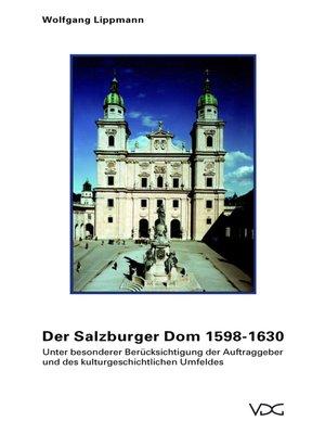 cover image of Der Salzburger Dom 1598-1630
