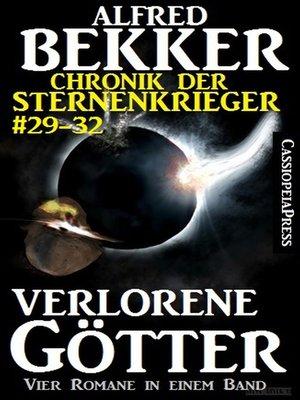 cover image of Verlorene Götter (Chronik der Sternenkrieger 29-32--Sammelband Nr.8)