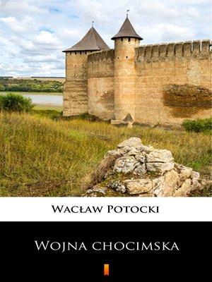 cover image of Transakcja wojny chocimskiej