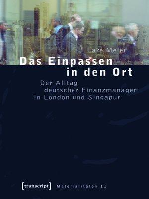 cover image of Das Einpassen in den Ort
