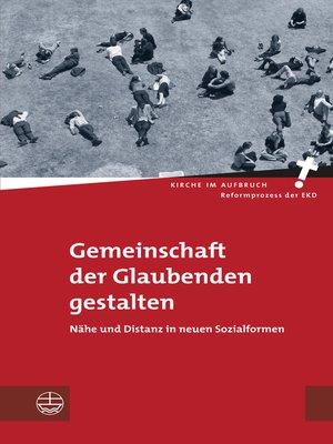 cover image of Gemeinschaft der Glaubenden gestalten