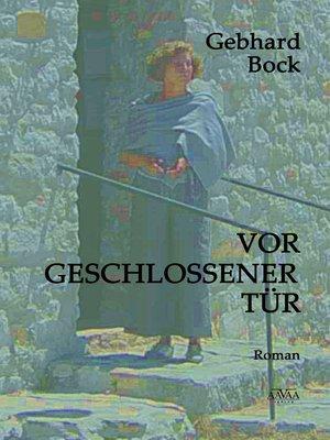 cover image of Vor geschlossener Tür