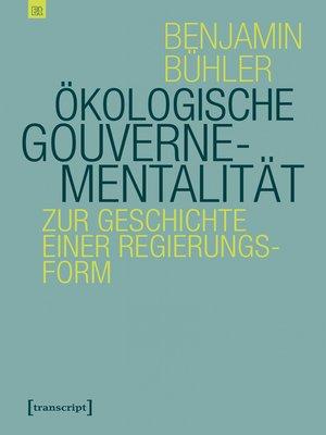 cover image of Ökologische Gouvernementalität