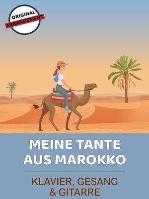 cover image of Meine Tante aus Marokko