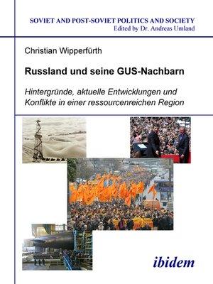 cover image of Russland und seine GUS-Nachbarn